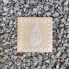 DurX-litecrete Lightweight Concrete pineapple Square Sandstone Stepping Stone – Set of 2 2
