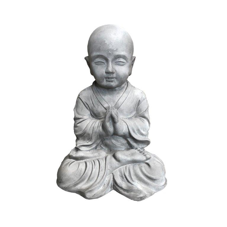 DurX-litecrete Lightweight Concrete Lifely Buddha Light Grey Sculpture