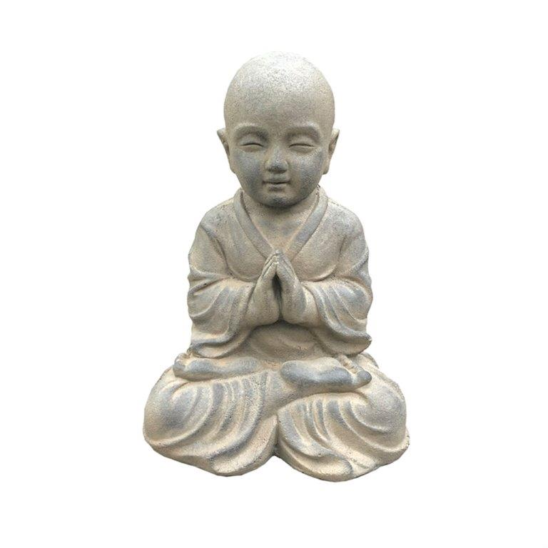 DurX-litecrete Lightweight Concrete Lifely Buddha Soil Rust Sculpture
